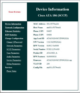 Cisco ATA v3.2.4 firmware