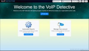 VoIP Detective call reporting